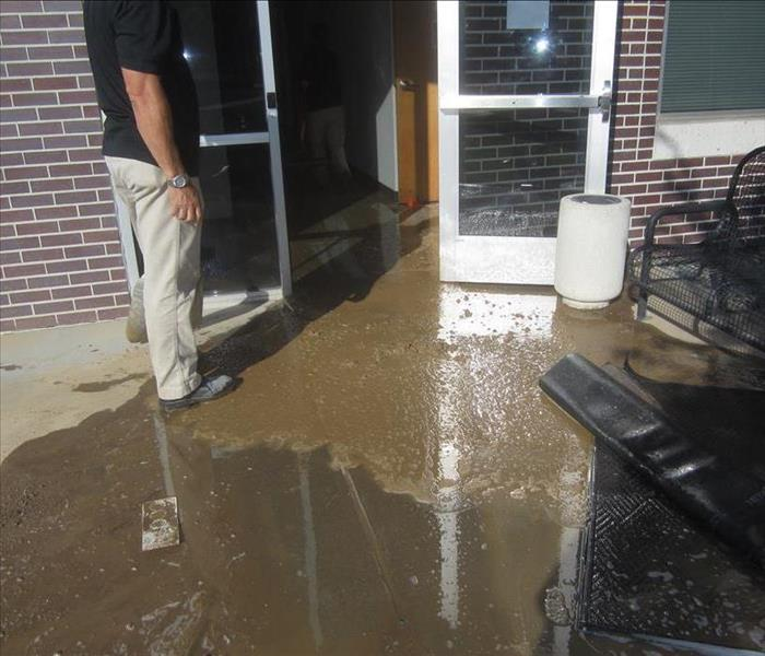 Commercial Water Damage near Carmichael