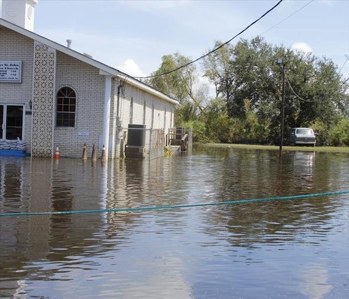 Storm Damage You can count on SERVPRO for Flood Restoration
