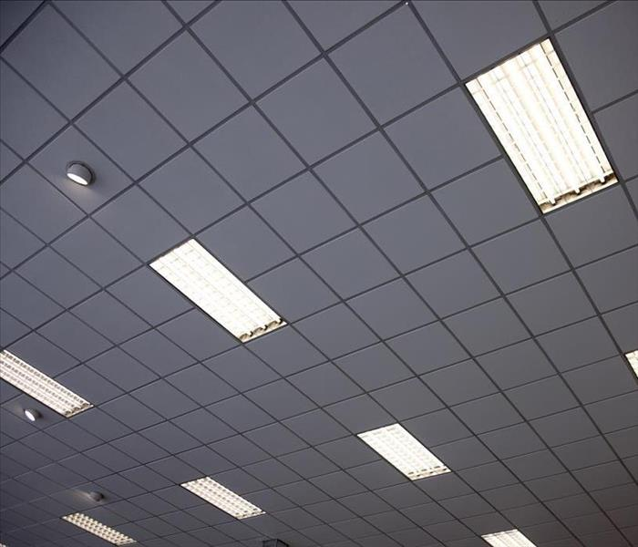 Fire Damage Cleaning Acoustical Ceiling Tiles After Fire Damage To Your Carmichael Home